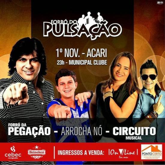 Circuito Musical Forró Circuito Musical 100% Energia - Vol. 5