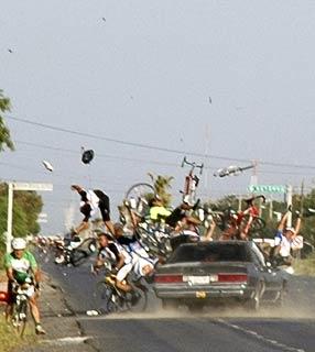 Atropelamento de Ciclistas no México
